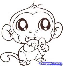 Cute Coloring Pages Of Baby Monkeys Google Search Kids Baby Monkey Coloring Pages Free