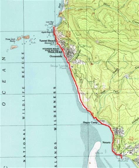 map of oceanside oregon oceanside to netarts hike hiking in portland oregon and