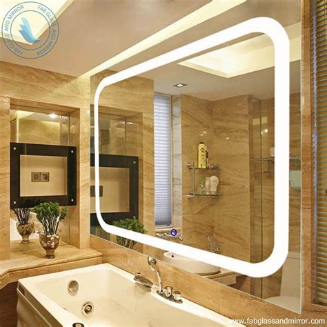 Quality Bathroom Mirrors Wall Mounted High Quality Led Lighted Vanity Mirror