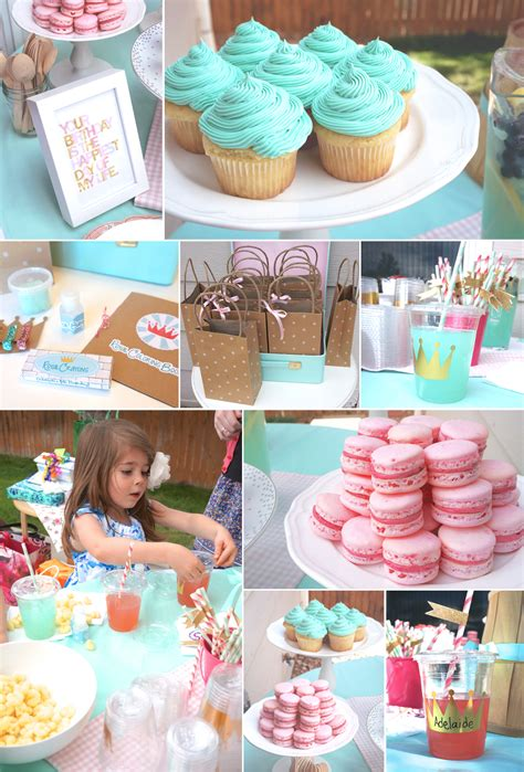 1st Birthday Decoration Ideas At Home by Mint Pink And Gold Princess The Caterpillar Years