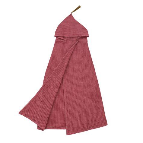 poncho handdoek lidor poncho handdoek dun rose