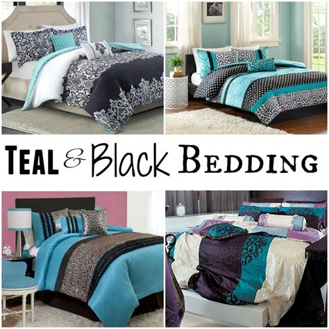Teal And Black Comforter Set by Black And Teal Comforter Sets Black Pics