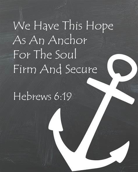 Anchor For The Soul Etsy - anchor for the soul chalkboard printable
