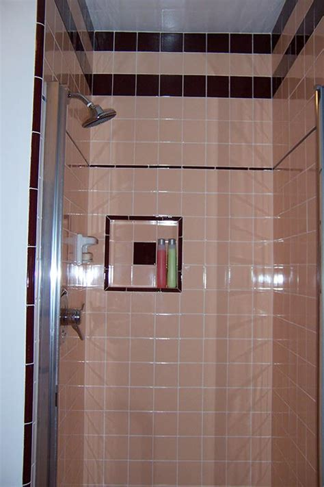help peach brown bathroom tile marsha saves her peach tile bathroom with help from b w