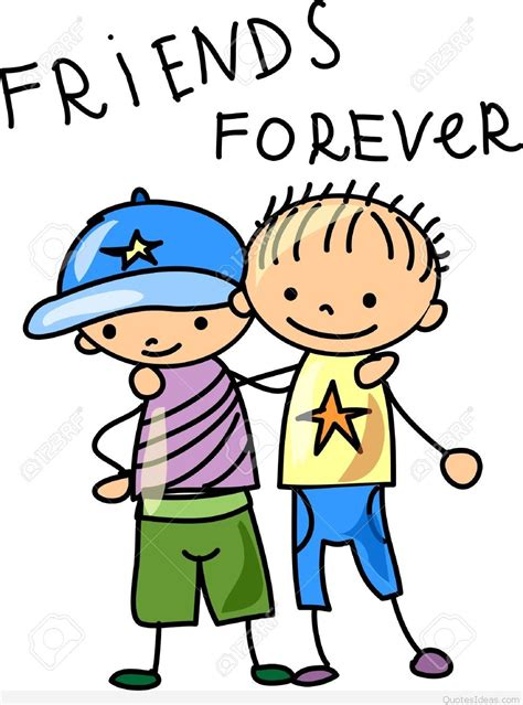 best cartoons a best friend quote with funny cartoon