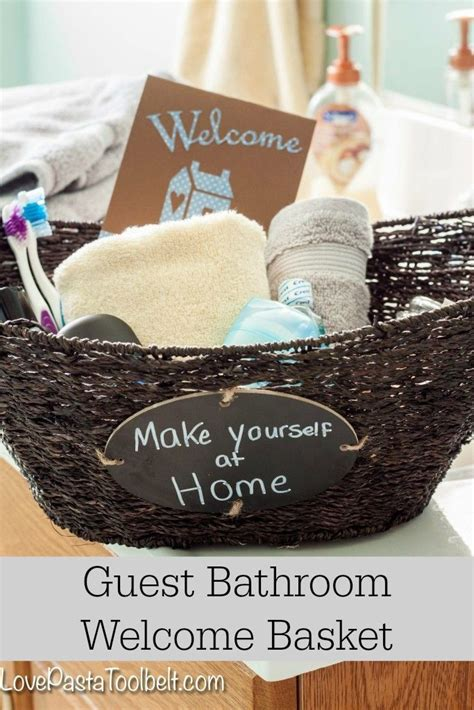 home welcoming gifts 25 best ideas about guest welcome baskets on