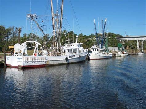 shrimp boat nc hobucken nc shrimp boats at the dock high rise bridge
