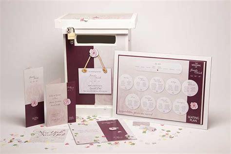 Wedding Stationery Brochure by Portfolio Corner House Design