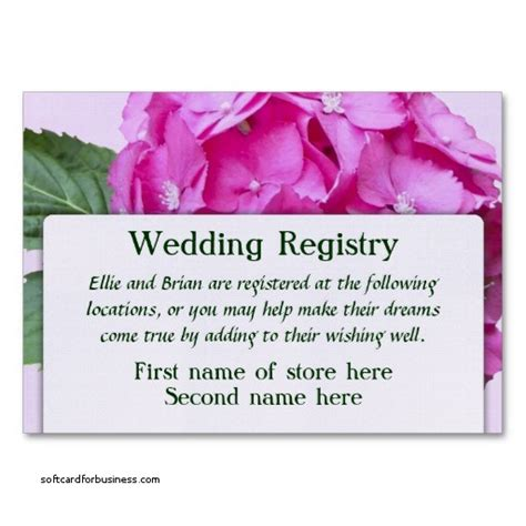 printable bridal shower registry inserts wedding invitation new registry inserts for wedding
