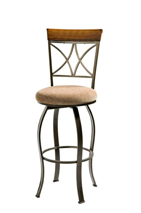 pewter bar stools hamilton swivel bar stool matte pewter bronze 697