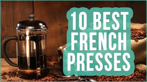 Best French Press 2016? TOP 10 French Press Coffee Makers   TOPLIST    YouTube