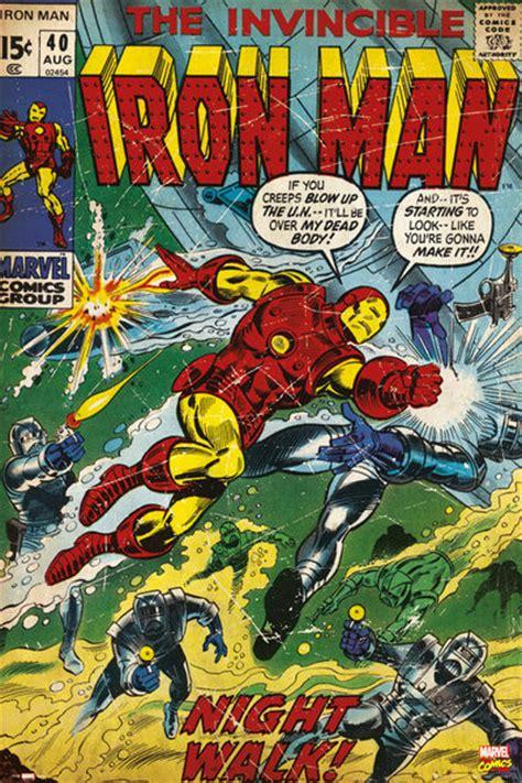 Xman Plakat by Marvel Iron Comic Plak 225 T Obraz Na Zeď Posters Cz