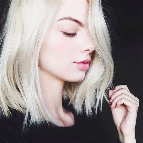 platinum blonde bob images 21 fierce platinum blonde colored hairstyles to make jaws