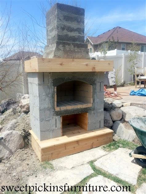 Build Your Own Fireplace by Build Your Own Outdoor Fireplace Pictures To Pin On