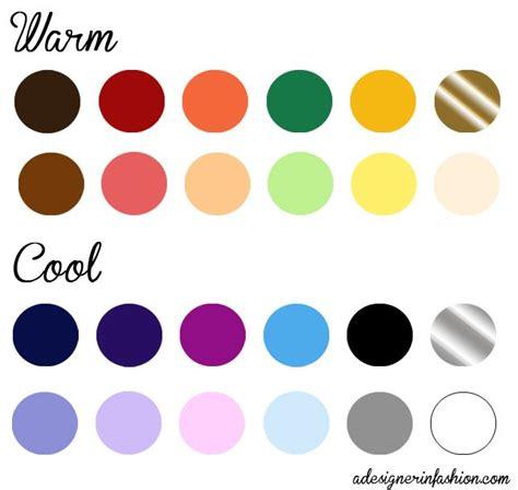 colors for cool skin tones warm cool undertones human nails
