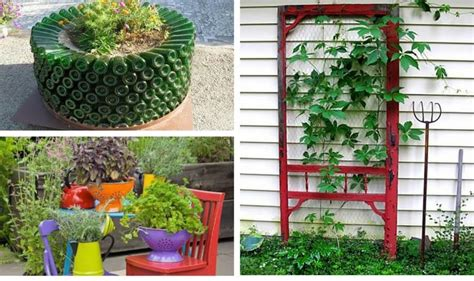 15 Remarkable Recycled Gardening Ideas Recycled Gardening Ideas