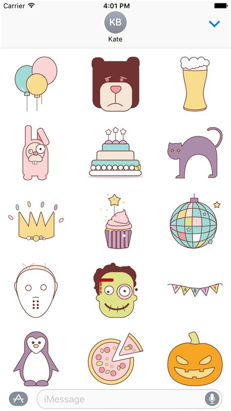 Imessage Stickers