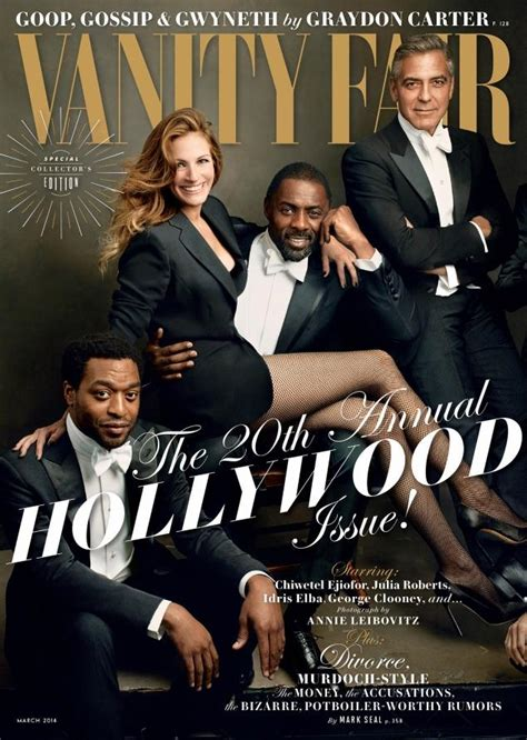 Issue Vanity Fair by Vanity Fair Snaps Back To Norm With Cover Awards