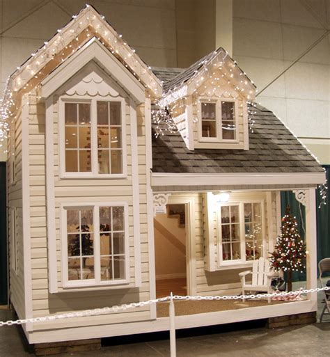 cottage playhouse blueprints designed by tanglewood design