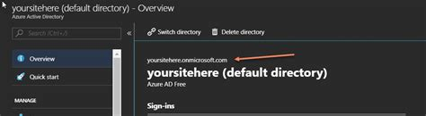 onmicrosoftcom azure active directory accounts