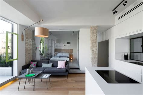 modern studio apartment layout ideas modern apartment brings japanese beauty to tel aviv