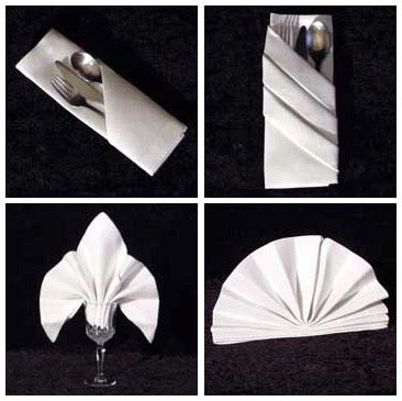 How To Fold Paper Dinner Napkins - 1000 images about eclat table linens on