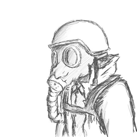 gas mask template gas mask ww1 pencil and in color gas mask ww1