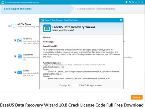 easeus data recovery full version license code easeus data recovery wizard 10 8 crack license code full