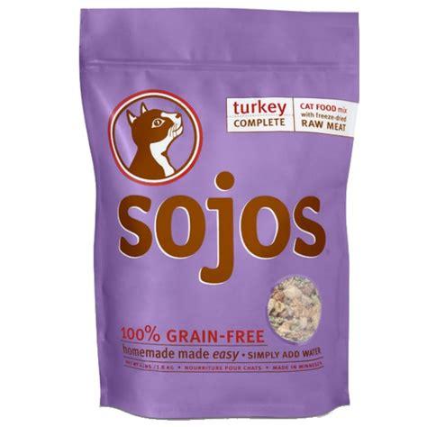 sojos food sojos complete turkey freeze dried cat food 4 lb naturalpetwarehouse