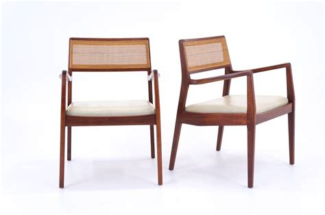 Jens Risom Dining Chairs Set Of Six Jens Risom Dining Chairs At 1stdibs
