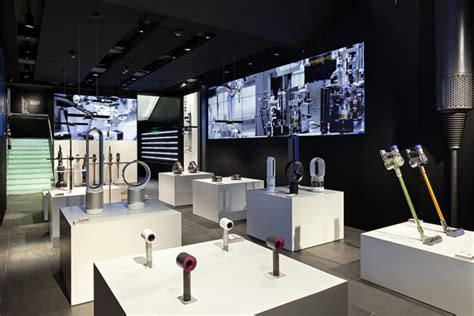 the home technology store dyson demo store by wilkinson eyre dyson london uk