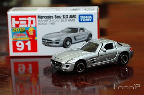 Mercedes Sls Amg No 91 Tomica dot die cast collection tomica no 91 mercedes
