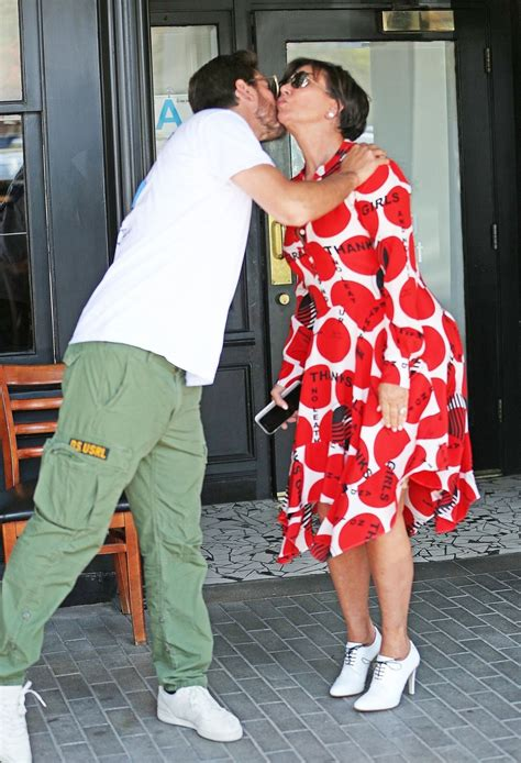 kris jenner and scott disick at maria s italian kitchen in