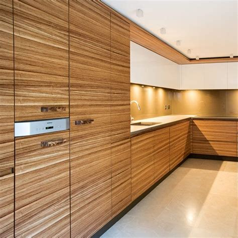 Zebrano Kitchen Cabinets Zebrano Wood Cons Veneers Are Known To Lift And Repairs A Bit Of A Wrap