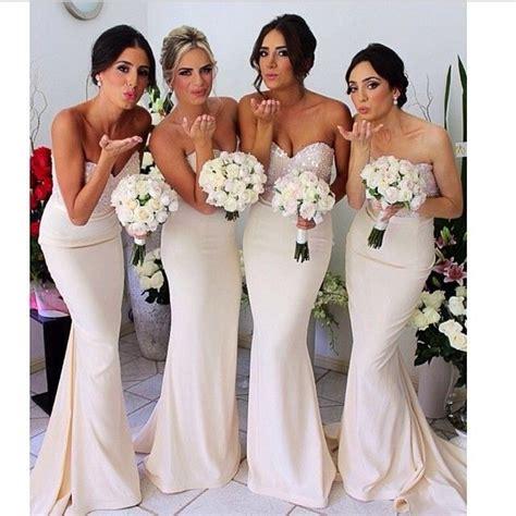 mermaid bridesmaid dresses pinkous