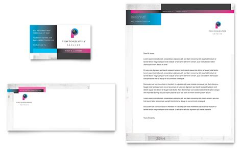 free business card letterhead template photography business business card letterhead template