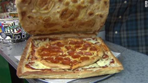 How To Make A Pizza Box Out Of Paper - pizzeria sells pizza box made out of pizza cnn