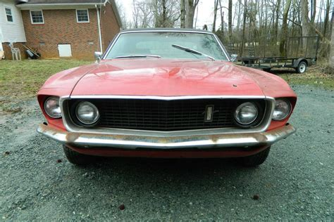 Ford 2016 Notchback by Driveway Find 1969 Ford Mustang Notchback