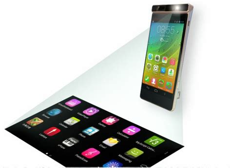 lenovo laser projector phone released