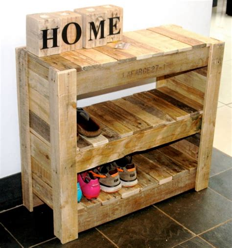pallet shoe storage pin by peggy wilmann on peggy shoe rack