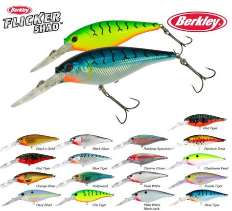 flicker shad colors berkley flicker shad our great go to for northern