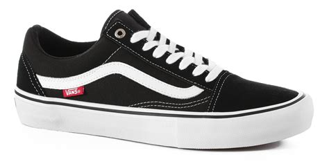 Vans Skool Blackl White Jual Vans Oldskool vans skool pro skate shoes black white free shipping