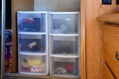 fantastic storage ideas for rv closets rv obsession