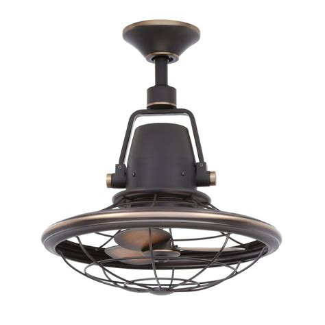bronze outdoor ceiling fan home decorators collection bentley ii 18 in indoor