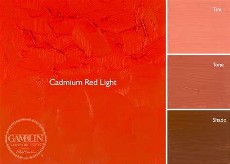 what is red light artist grade oil colors gamblin artists colors