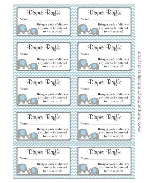 Diy Raffle Ticket Template free printable raffle ticket template baby shower