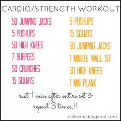 cardio workouts at home without equipment