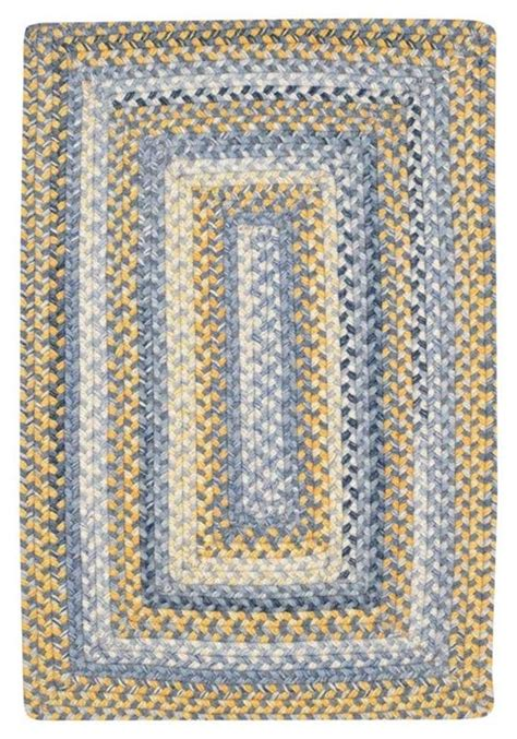Capel Rugs High Country Blue Yellow Area Rug Yellow And Blue Area Rugs