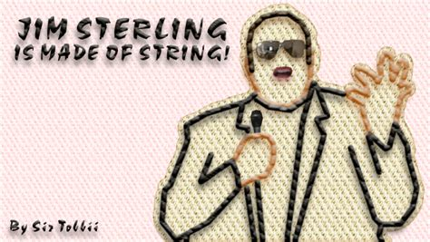 ask fm jim sterling jim sterling is made of string by sirtobbii on deviantart