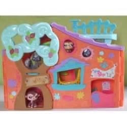 maison petshop orange avec 3 shop achat et vente
